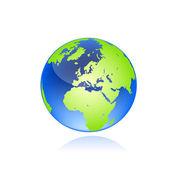 Globe. illustration vectorielle — Vecteur