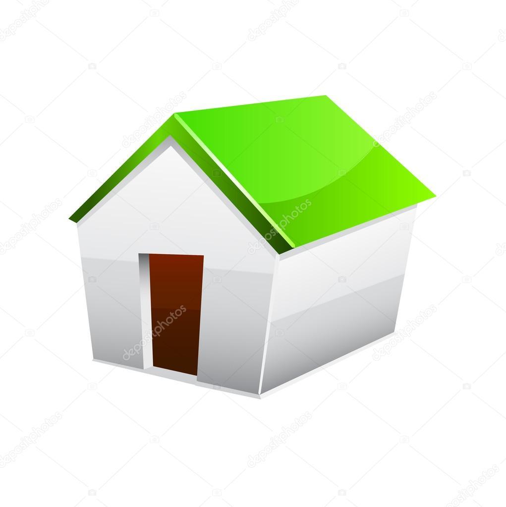 haus symbol stockvektor pokomeda 27080941. Black Bedroom Furniture Sets. Home Design Ideas