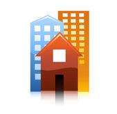City icon — Stock Vector