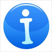 Icona informazioni — Vettoriale Stock