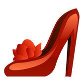 Schuhe-symbol — Stockvektor