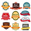 Set of blank badges . — Stock Vector
