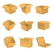 Box set. — Stock Vector