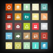 Set di icone web. — Vettoriale Stock