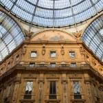 Vittorio Emanuele II Gallery. Milan, Italy — Stock Photo #13832692