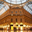 Vittorio Emanuele II Gallery. Milan, Italy — Stock Photo #13832706