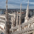 Stock Photo: City view of Milan, Italy