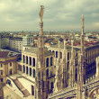Milan, Italy. View on Royal Palace - Palazzo Realle — Stock Photo #13832723