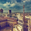 Milan, Italy. View on Royal Palace - Palazzo Realle — Stock Photo #13832727