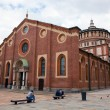 Santa Maria delle Grazie church in Milan — Stock Photo #13832733