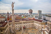 Milan, Italy. View on Royal Palace - Palazzo Realle — Stock Photo