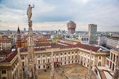 Milan, Italy. View on Royal Palace - Palazzo Realle — Stock Photo