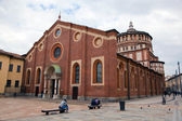 Santa Maria delle Grazie church in Milan — Stock Photo