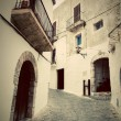Architecture of old city of Ibiza, Spain — Stock Photo