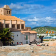 Old city of Ibiza, Spain - Stock Photo
