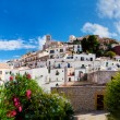 Panorama of Ibiza, Spain - Foto Stock