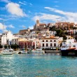 Panorama of Ibiza, Spain — Stock Photo #13915646