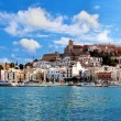 Stock Photo: Panoramof Ibiza, Spain