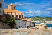 Old city of Ibiza, Spain — Stock Photo