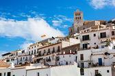 Old city of Ibiza, Spain — Foto Stock