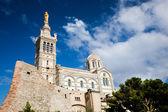 Notre Dame de la Garde, Marseille, France. — Stock Photo