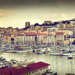Royalty-Free Stock Photo: Marseille, France panorama, famous harbour.