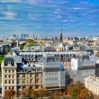 Paris panorama, France. Eiffel Tower, Seine river — Stock Photo #14941165