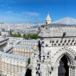 Paris, France. Sacre-Coeur Basilica — Stock Photo