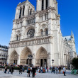Notre Dame Cathedral, Paris, France. — Stock fotografie