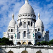 Sacre-Coeur Basilica. Paris, France. — Stock Photo