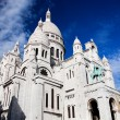 Sacre-Coeur Basilica. Paris, France. - Stock Photo