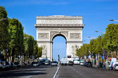 Arc de Triomphe, Paris, France. — 图库照片
