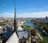 Paris panorama, France. Seine river — 图库照片