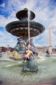 Fountain in Jardin des Tuileries Paris, France. — Stock Photo