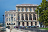 Hungarian Academy of Sciences. Budapest, Hungary — Stock Photo