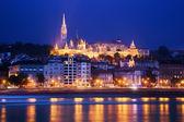 Fisherman's Bastion. Budapest, Hungary — Stock Photo