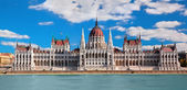 Hungarian parliament in Budapest, Hungary — Stock Photo