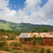 Southern Kenya poverty landscape — Stock Photo