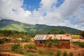 Paisaje de la pobreza de kenia meridional — Foto de Stock