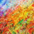 Colorful abstract painting. Colors background — Stock Photo