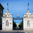 Entrance to the Warsaw University in Poland — Stock Photo