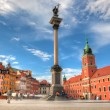 Old town in Warsaw, Poland — Stock Photo