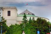 Polish parliament building, The Sejm of Poland — Stock Photo