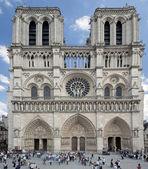 Katedra notre dame, paryż, francja. — Zdjęcie stockowe
