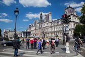 The Hotel de Ville, Paris, France. — Stock Photo
