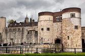 La tour de londres, au royaume-uni. le palais royal et forteresse — Photo