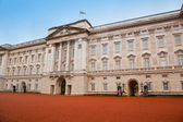 Buckingham Palace in London, the UK — Stock Photo