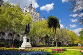Victoria Embankment Gardens in London, the UK — Stock Photo