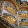 Galleries Lafayette, Paris — Stockfoto