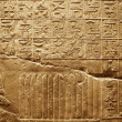 Old egypt hieroglyphs carved on the stone — Foto de Stock